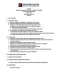05-10-2019 Agenda